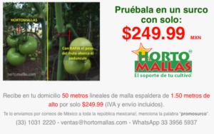 promocion malla tomatera